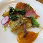 17346060 - 本日のお魚ランチ 2種類の魚、美味しかった!!