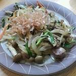 17346454 - 野菜炒め(カモ入ってます)