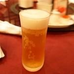 中国料理 青冥 - 生ビール 中タンブラー