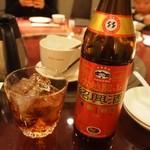中国料理 青冥 - 紹興酒(古越龍山 陳年5年)