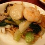 中国料理 青冥 - 海の幸入り揚げそば