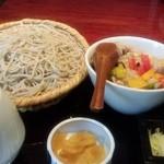 17347092 - 鶏カシューナッツ丼セット