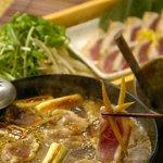高田屋 - 高田屋の新名物!鴨ぬき鍋