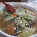 大東園 - タル麺です。野菜がたっぷり。