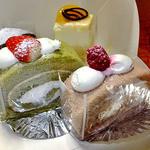 カワゴン - 料理写真:購入した4種類のケーキ(2013年2月)