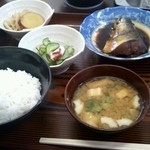 弾々 - 料理写真:魚定食(650円)