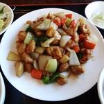 糀家 - 鶏肉とカシュナッツ炒め