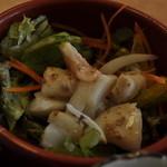和膳 松たに - お寿司屋さんのサラダ