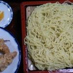 丸五そば屋 - 2013.2.16もり天中