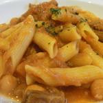 17355110 - トリッパと豆のペンネアラビアータ