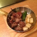 やきもんや Saute - 砂肝黒胡椒。胡椒うまかった。