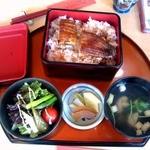 Saikyougenya - うな重(2段)+肝吸い(+50円) \2,150