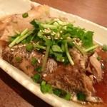 八乃和 - 銀むつ(カシラ)の煮つけ