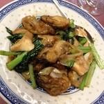 中国料理 小花 - 牡蠣の野菜炒め