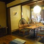 茶房 あゆみ - テーブル