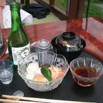 1736204 - 川床料理(1)