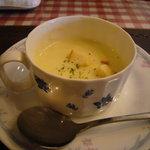 レストラン とまと - レディースセット「コーンポタージュ」
