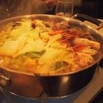 コルティーレ - コース料理の鍋!!魚介たっぷりで美味!!