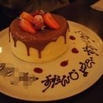 コルティーレ - ケーキは、シフォンとプリンのようなクリームで美味しすぎる!笑