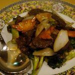多謝 - 牛肉のXO醤炒め