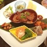 近江牛と地元野菜 ダイニングMOO - 近江牛焼肉とおばんざいのランチ