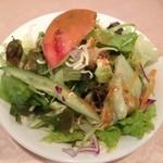 17365545 - カツカレーのセット・サラダ
