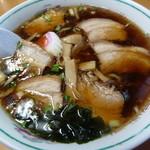 ラーメン つくも - チャーシュー麺(700円)