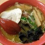 松任製麺 - 地鶏白湯らーめん