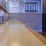 仙臺麺屋 しゃも - カウンター席のみ(待ちあいスペースあり)