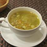 17367321 - スープ(カレー風味の野菜スープ)