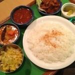 南インドの味 カレーリーフ - ベジタリアンセット