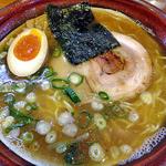 麺屋 一本気 - らー麺(大盛)(2013年2月)