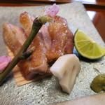 き八 - 天草大王地鶏の塩焼き
