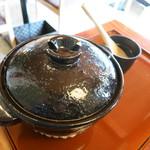 き八 - 土鍋!