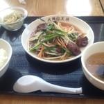 大阪王将 - レバニラ定食