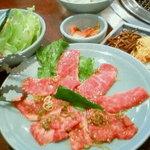 青磁 - 和牛カルビ定食