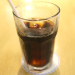 喫茶は~もにぃ - アイスコーヒー、250円。