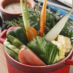ディキシーダイナー - 練馬野菜のバーニャカウダ