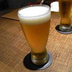 割烹 しらこ - 生ビール(エビス)