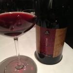キョウヤ クチーナ イタリアーナ - パンの香りがするワイン。