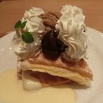 ぶどう圓 - 料理写真:渋皮マロン・480円