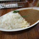ザッシカフェ - 挽肉のカレーライス(850円)
