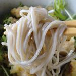 ほおの木 - ごぼ天・小丼セット(1450円)のど越しツルツルタイプの麺