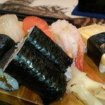17372763 - 晩酌セットのお寿司
