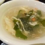 17372960 - ある日のAランチセットのスープ