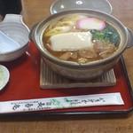 長寿庵 - 料理写真:みそ煮込みうどん