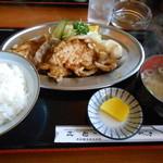 17374429 - 生姜焼き定食