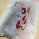 いさみ屋 - かりんとう饅頭 100円 饅頭はあまり得意ではないのですが、これは食べやすい。まわりの生地がサクッとして饅頭なのにと思わせる一品です!!