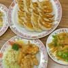 餃子の王将 - 料理写真:餃子・唐揚げ・ポテト・メンマ~☆