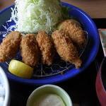 梅え門 - カキフライランチ(1,080円)